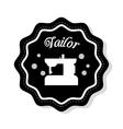 Tailor shop design vector image vector image