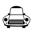 car line icon for web vector image vector image