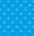knive pattern seamless blue vector image vector image