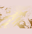 metallic rose gold abstract texture vector image vector image