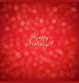 red holidays background vector image vector image