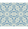 Seamless lace pattern on blue bacground vector image vector image