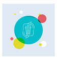 waste disposal garbage management recycle white vector image