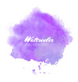 purple watercolor background vector image