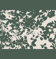 berry bushes in forest vector image