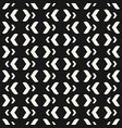 abstract modern black and white seamless pattern vector image