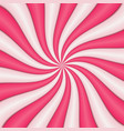 abstract sweet candy background vector image