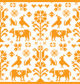 austrian and german seamless pattern vector image vector image