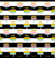 birthday cakes striped seamless pattern vector image