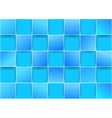 Blue tiles - threedimensional background vector image