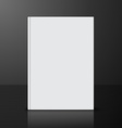 book blank vector image vector image