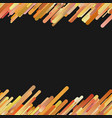 orange modern gradient background with seamless vector image vector image