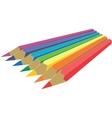 Pen set color 1 vector image vector image