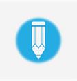 pencil icon sign symbol vector image vector image