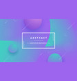 purple green abstract background vector image vector image