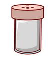 salt shaker icon cartoon style vector image vector image