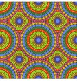 seamless colorful abstract pattern vector image vector image
