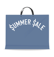 Shopping bag for summer sale vector image vector image