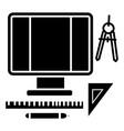 wed design - art design icon vector image