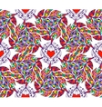 abstract seamless pattern with hearts vector image vector image