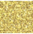 abstract texture of golden mosaic inlay vector image vector image