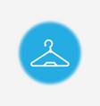hanger icon sign symbol vector image vector image
