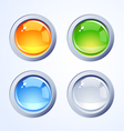 Internet buttons vector image