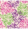 organic shape flowers vector image vector image
