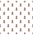 party popper pattern vector image vector image
