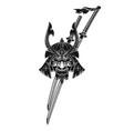 samurai 0006 vector image vector image