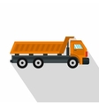 Truck icon flat style vector image