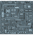 Appliances seamless pattern vector image vector image