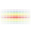 internet spectrum halftone grid vector image vector image