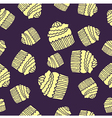 purple cake pattern vector image