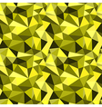Seamless yellow abstract geometric pattern vector image