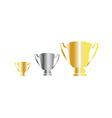 Award cup vector image