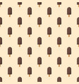 chocolate ice creamon a stick - seamless pattern vector image vector image
