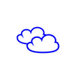 cloud of icons vector image vector image