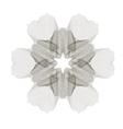 Geometric Ornament Guilloche Rosette vector image vector image