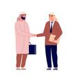arab businessman handshake business agreement