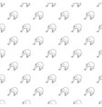 bald wakari pattern seamless vector image