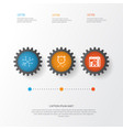 board icons set collection of conversation vector image