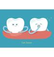 Gum disease vector image vector image
