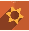 icon gears background vector image