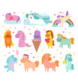 Pony cartoon unicorn or baby character of