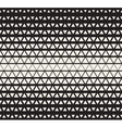 Seamless Black and White Triangles vector image