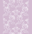 vintage baroque background floral ornament vector image vector image