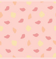 abstract stains seamless pattern pink background vector image