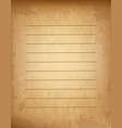 agedlined paper parchment papyrus with empty copy vector image