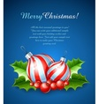Christmas decoration of ball vector | Price: 3 Credits (USD $3)